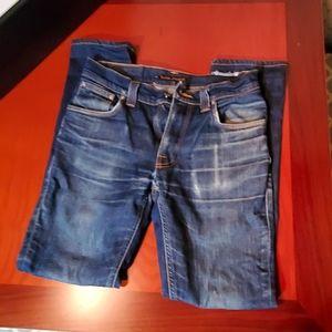 Nudie Jean's. Men's skinny jeans 30/32
